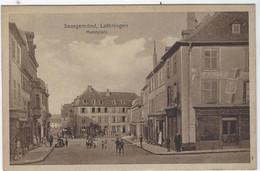 SAARGEMUND  PLACE DU MARCHE - Sarreguemines