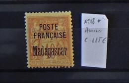 04 - 21 / Madagascar N°18* - MH - Aminci - Cote : 115 Euros - Used Stamps
