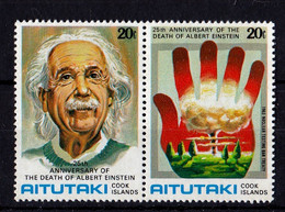 UMM 1980 Einstein, 3 X Pairs - Aitutaki