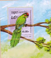 UMM 1989 Birds M/S - Kampuchea