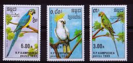 UMM 1989 Birds - Kampuchea