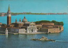 Italien - Venedig - Venezia - Insel St. George - Fähre - Venetië (Venice)