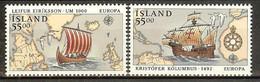 ISLANDE N°715/716** - Cote 10.00 € - Ungebraucht