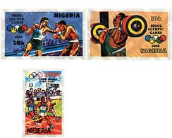 Ref. 71465 * MNH * - NIGERIA. 1988. GAMES OF THE XXIV OLYMPIAD. SEOUL 1988 . 24 JUEGOS OLIMPICOS VERANO  SEUL 1988 - Nigeria (1961-...)