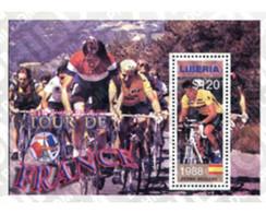 Ref. 224209 * MNH * - LIBERIA. 2003. CENTENARY OF THE TOUR OF FRANCE . CENTENARIO DEL TOUR DE FRANCE - Liberia