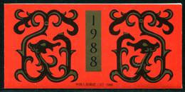 (Cina 18) Cina Libretto 1988 Nuovo MNH** - Zonder Classificatie