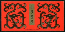 (Cina 19) Cina Libretto 1988 Nuovo MNH** - Zonder Classificatie