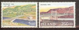ISLANDE N°721/722** - Cote 11.25 € - Ungebraucht