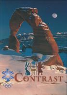 USA Postcard 2002 Salt Lake Olympic Games - Mint (G129-44) - Hiver 2002: Salt Lake City