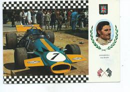 GRAHAM HILL - BRABHAM BT.30 - F.1 MOTOR FORD COSWORTH V.8 - 455 CV. 587 Kg - Grand Prix / F1