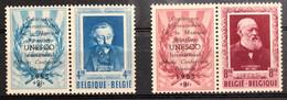 België, 1953 -- Nr PR119-20, E. Verhaeren En H. Conscience, Postfris **, OBP 135€ - Privé- & Lokale Post