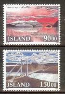 ISLANDE N°735/736** - Cote 10.00 € - Ungebraucht