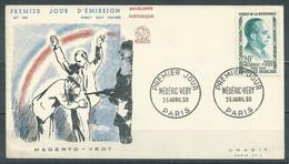 France FDC Enveloppe Premier Jour YT N°1200 Médéric-Védy - 1950-1959