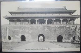 Chine Peking Second Gate  Forbidden City   Cpa - Chine
