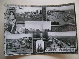 1963 - Saluti Da Torre Pedrera - Forlì - Vedute - La Spiaggia - Pin-Up - Gruss Aus.../ Grüsse Aus...