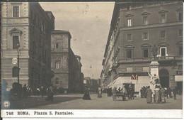 Roma - Piazza San Pantaleo - Places