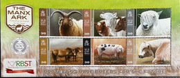 Isle Of Man 2014 MNH -  Animals . Protection Rare Breeds - Isle Of Man