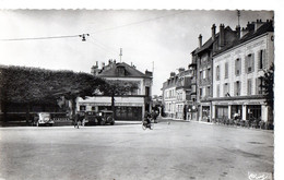 BRUNOY (S.-et-O.)  -  Place De La Gare Et Rue De La Gare - Brunoy