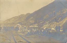 K19 - 73 - MODANE - Savoie - Carte Photo - Les Ouvriers En Gare De Modane - Modane