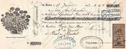 O,HERMEND LA MENITRE 1893 - Letras De Cambio