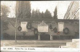 Roma - Porta Pia - La Breccia - Other Monuments & Buildings
