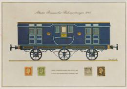 Germany Postcard W/Meter Neubeckum 1969 100 Jahre Post Neubeckum (G129-41) - Post