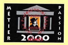 AUTOCOLLANT STICKER - LYCÉE PROFESSIONNEL FREDERIC MISTRAL NIMES - MÉTIER PASSION 2000 - ECOLE -ENSEIGNEMENT - Stickers