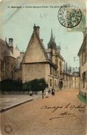 CPA BOURGES Palais Jacques Coeu, Vue Prise Du Sud (612791) - Bourges