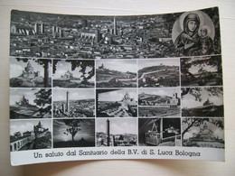Un Saluto Dal Santurio Della B. V. Di S. Luca - Bologna - Funivia - Le Torri - Chiesa - Gruss Aus.../ Grüsse Aus...