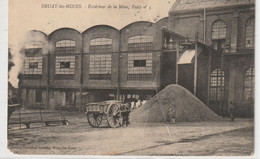 DEPT 62 : édit. N G : Bruay Les Mines Extérieur De La Mine Puits N° 3 ( ATTENTION PLI ) - Barlin