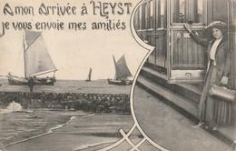 BELGIQUE - HEYST - AMITIES DE - TRAIN - BATEAUX - Otros