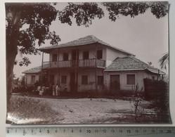POLYNESIE  - Photo De J.P. Fernandes MAISON DE VILLAGE A SITUER Av.1920 - 20 X 15 Cm. - Andere