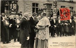 CPA ORLÉANS Fetes De Jeanne D'Arc 1912 Mgr Touchet Et M. Gitton (608798) - Orleans
