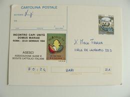 ROMA 1994  INCONTRI  CAPI UNITA  DOMUS MAIAE  SCOUT SCOUTS   POSTCARD  USED  CONDITION PHOTO - Scouting