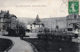 BESANCON - Quartier De La Gare. N° 894. Editeur Non Précisé. Circulée En 1913. Bon état. - Besancon