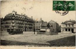 CPA SEDAN Place Turenne Et Hotel De Ville (646692) - Sedan