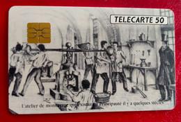 Télécarte Monaco - Xème Rencontre Internationale Numismatique - Monaco