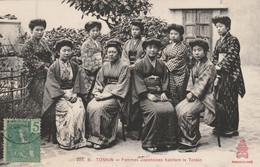 TONKIN :  Femmes Japonaises Habitant Le Tonkin. - China