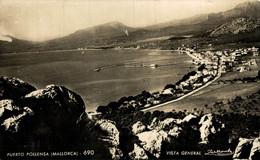 MALLORCA PUERTO POLLENSA VISTA GENERAL   Islas Baleares España Espagne Spain - Unclassified