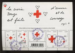 2016 Ø Roscoff. (bureau Fermé Depuis) Bloc Croix Rouge De 2015 - Used