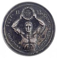"""1933. """"Magyar Testgyakorlók Köre 1888 / Bátorság -Buzgalom - Bátorság - Csapatbajnokság 1933. I."""" Jelzett Ag Emlékérem ( - Unclassified"""