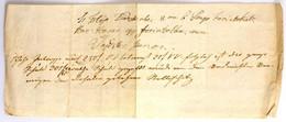 Ercsi (Ertsi) 1847. Kitöltött Váltó 106Ft-ról, Kézírásos, Merített Papíron T:III / Hungary / Ercsi 1847. Bill Of Exchang - Unclassified