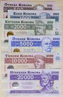 2012. 500 Balatoni Korona + 1000 Balatoni Korona + 2000 Balatoni Korona + 5000 Balatoni Korona + 10.000 Balatoni Korona  - Unclassified