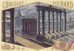 Chromo -publicité Chocolat Suchard - Le Forum De Rome - Suchard