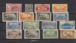 Syrie  Lot De 16 Timbres - Used Stamps