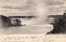 Géneral View Horseshoe Falls , Niagara 1904 - Ohne Zuordnung