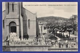 CPA 71 LE CREUSOT SAINT CHARLES - Collection Du Patro - On Entre Toujours ! - Le Creusot