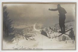 ° GERARDMER ° SKI ° 1910 ° SAUT ° MILITAIRE ° - Luoghi
