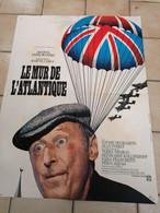 AFFICHE CINEMA    LE MUR DE L'ATLANTIQUE  BOURVIL     ( 60 CM X 80 CM ) - Posters