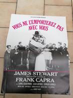AFFICHE CINEMA     VOUS NE L'EMPORTEREZ PAS AVEC VOUS  -JAMES STEWART   1990  ( 40 CM X 60 CM ) - Posters